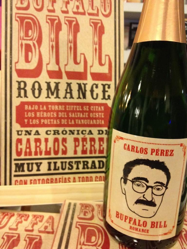 Bufalo Bill Romance, de Carlos Pérez. Editado por Media Vaca. Su presentacion en la Librería Barthleby de Valencia justo en un día que nos habría gustado compartir.