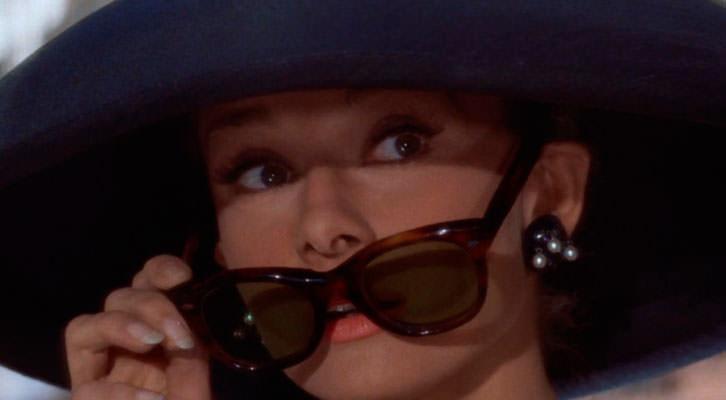 Audrey Hepburn en 'Desayunos con diamantes' de Blake Edwards, en 'Libro de cine para regalar' de Michi Huerta.