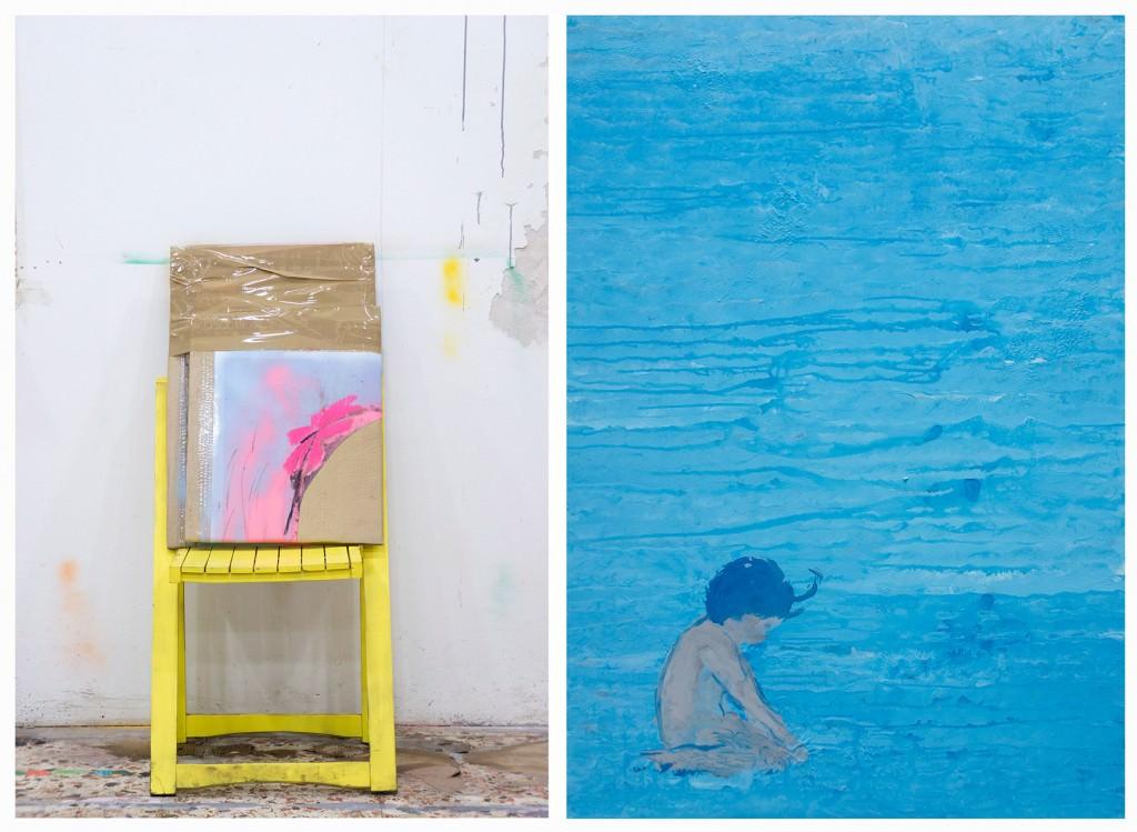"""Eduardo Infante, """"El mar es más que el cielo"""" (fotografía: Germán Fernández). Imagen cortesía de la Parking Gallery."""
