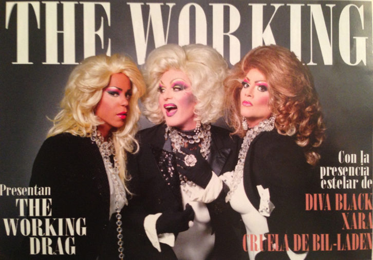 Los/as integrantes de 'The Working Drag'. Imagen cortesía de sus autores.