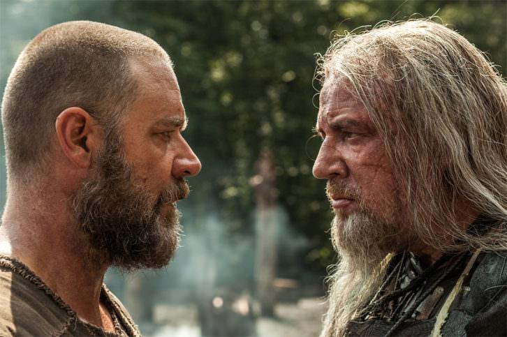 Noé (Russell Crowe) y Tubal (Ray Winstone) dos caras de una misma moneda.