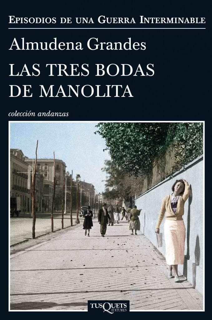 Portada de la última novela de Almudena Grandes.
