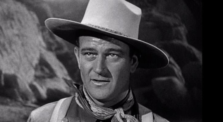 John Wayne en 'La diligencia', de John Ford, película mencionada en 'Libro de cine para regalar', de Michi Huerta.