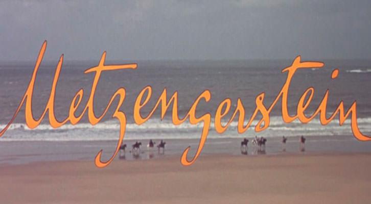 Fotograma del comienzo de la película 'Metzengerstein', de Roger Vadim.