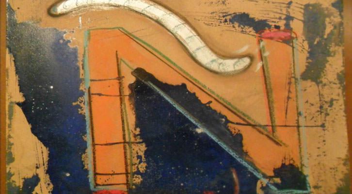 Una de las letras del 'Abece-Dario-Dario' de José Morea que se expone en la Sala de la Muralla del MuVIM.