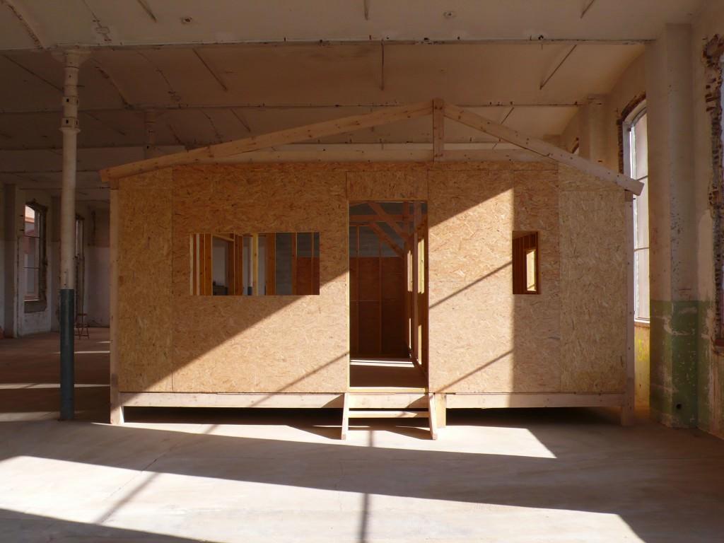 """Martín Anson, """"Pabellón Catalán. Arquitecto Anónimo"""". Imagen cortesía de la Fundación Suñol."""
