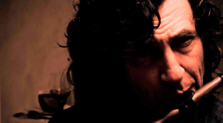 Retrato de Jorge Pardo. Imagen cortesía de Jimmy Glass Jazz.