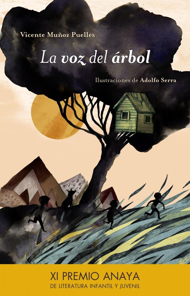 Portada del libro 'La voz del árbol', de Vicente Muñoz Puelles. Imagen cortesía de Editorial Anaya.