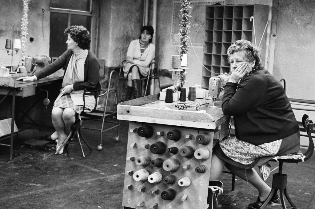 Nave de costura de Redman, Scarbottom 1975-1980. © Martin Parr / Magnum Photos