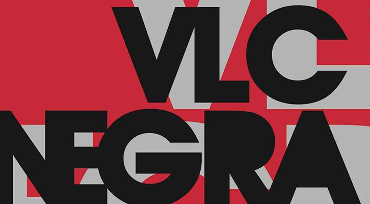 Detalle del cartel del Festival VLC Negra. Imagen cortesía de la organización.