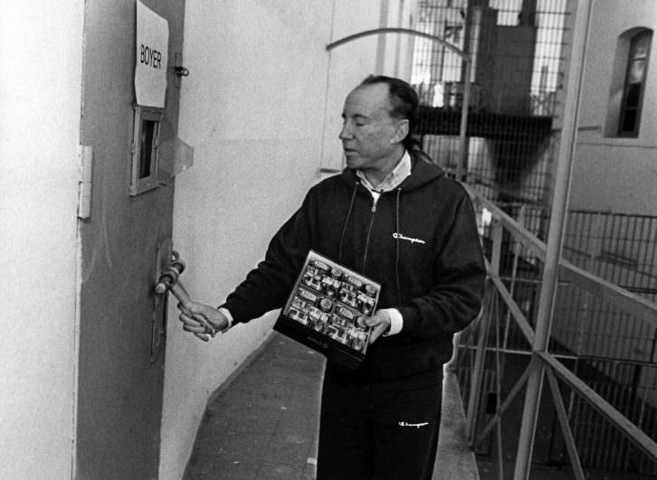 Ruiz Mateos en la cárcel. Fotografía de Jose Marín. Imagen cortesía de PhotOn Festival.