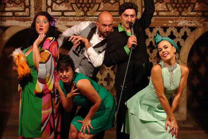 La compañía Francachela. Imagen cortesía de Carme Teatre.