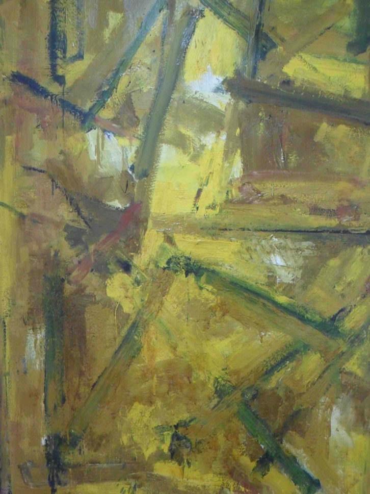 Obra de Anzo en la exposición homenaje que le dedica la galería Muro.