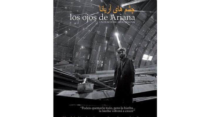 Cartel de la película 'Los ojos de Ariana', de Ricardo Macián. Imagen cortesía de Railowsky.