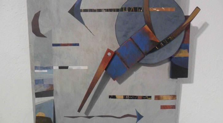 Obra de Mariona Brines y Martí Rom en la exposición 'Only two', en Galería del Palau.