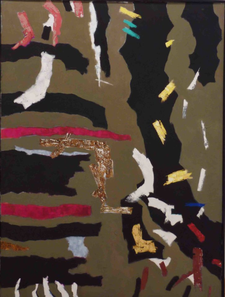 Obra de Doro Balaguer. Imagen cortesía de Galería Rosalía Sender.