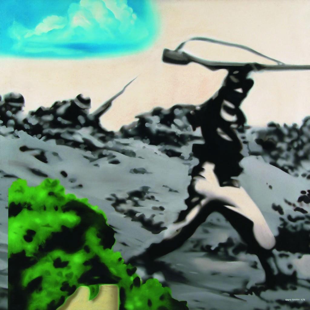 """Equipo Realidad (""""Ver visiones. Reinterpretando el presente""""). Imagen cortesía de La VAC."""
