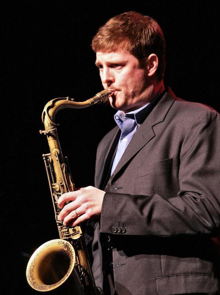 El saxo tenor Eric Alexander. Imagen cortesía de Jimmy Glass.
