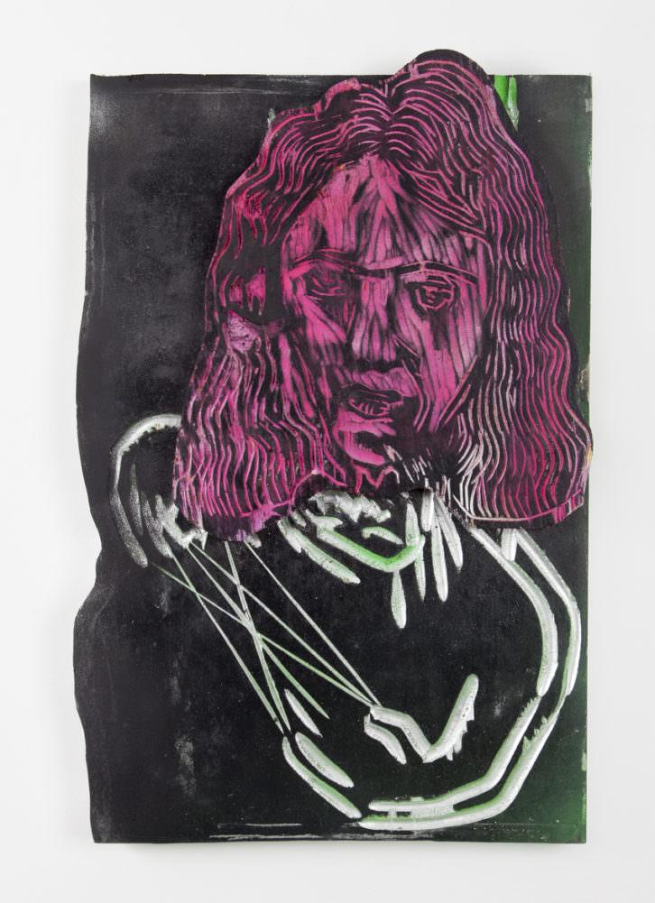 Obra de Folkert de Jong. Imagen cortesía de la galería Luis Adelantado.