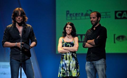 Gerardo Herrero, premiado en el Festival Internacional de Cine de Valencia. Imagen cortesía de Cinema Jove.