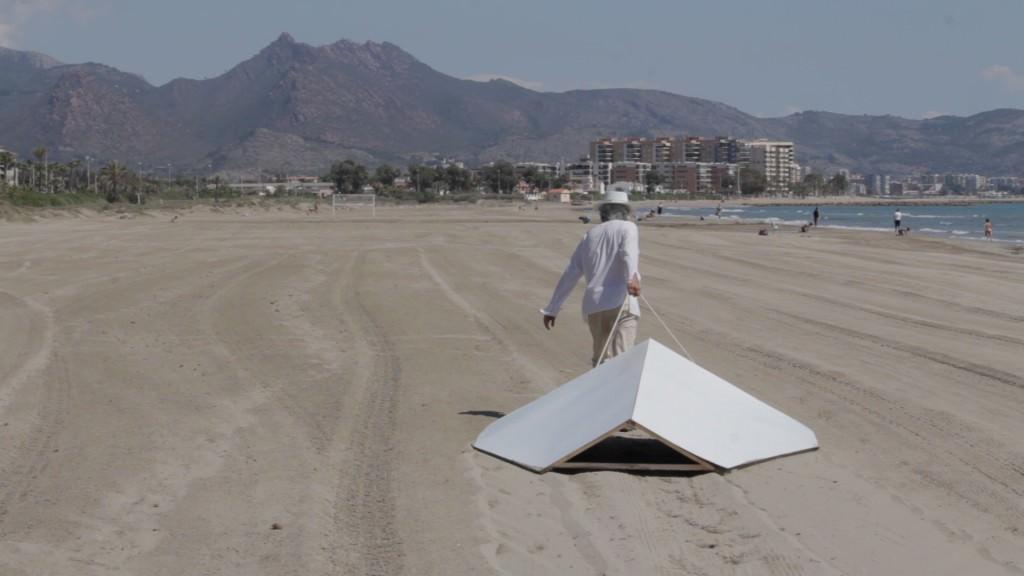 """Carlos Montaño, """"Qandíl"""" (videoinstalación). Imagen cortesía del artista."""