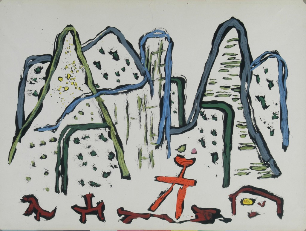 Mathias Goeritz, En la montaña, 1948. Colección Instituto Cultural Cabañas, Guadalajara, Jalisco. Imagen cortesía de Chus Tudelilla.