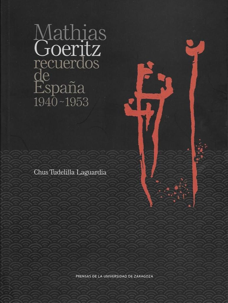 Mathias Goeritz. Recuerdos de España. Chus Tudelilla (portada del libro). Imagen cortesía de Chus Tudelilla.