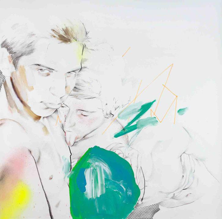 Obra de Javi Moreno en la exposición 'Hipertexto2014'. Imagen cortesía de SET espai d'art.