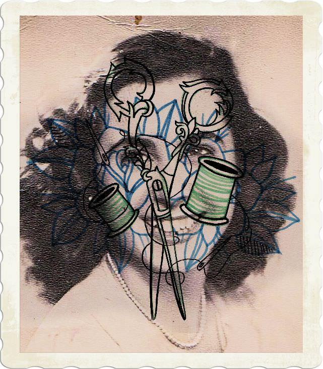 Obra de Meritxell Quevedo. Imagen de la web de PAM14.