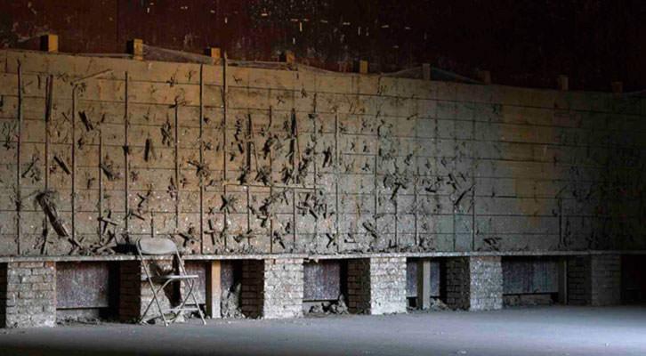 Fotografía de Carlos Sebastiá. Exposición 'Abandono', en Jiali Gallery. Beijing. Imagen cortesía del autor.