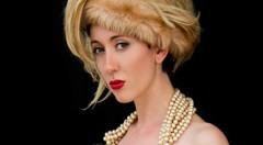 La modelo Jennifer Picken en una de las fotografías de Anna María Staiano. Imagen cortesía de la autora.