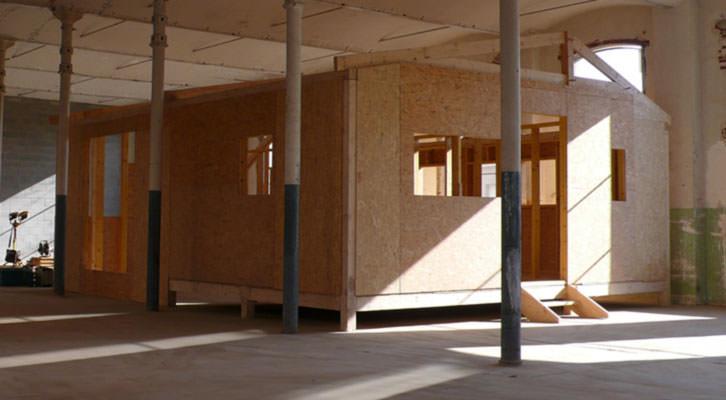 Obra de la exposición Acto 29: Martí Anson. Pabellón catalán, Arquitecto anónimo. Imagen cortesía de Nivell Zero de la Fundació Suñol.