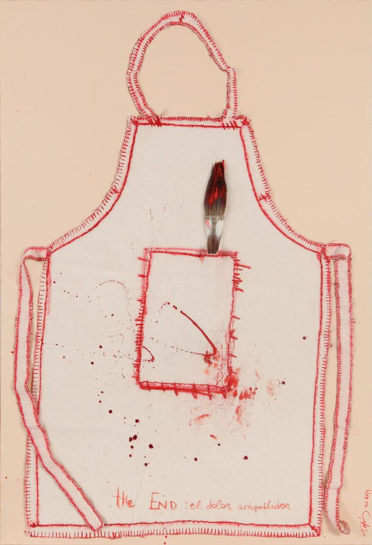 'Patrones del dolor', de Teresa Cebrián. Imagen cortesía de La Nau de la Universitat de València.