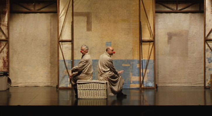 Vol-Ras en una escena de su espectáculo 'Da capo'. Imagen cortesía de Teatre Talia.