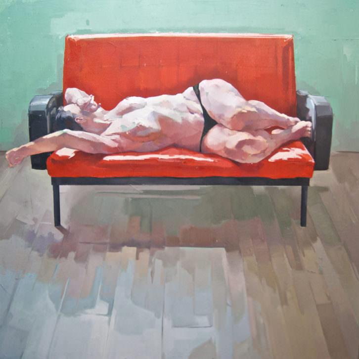 Obra de Alejandro Casanova. Imagen cortesía de Russafart.