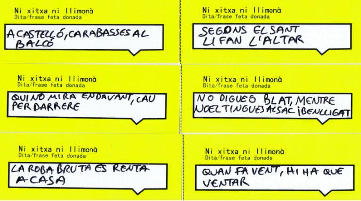 """Gema del Rey, """"ni xitxa ni llimonà"""". Imagen cortesía de Gema del Rey."""