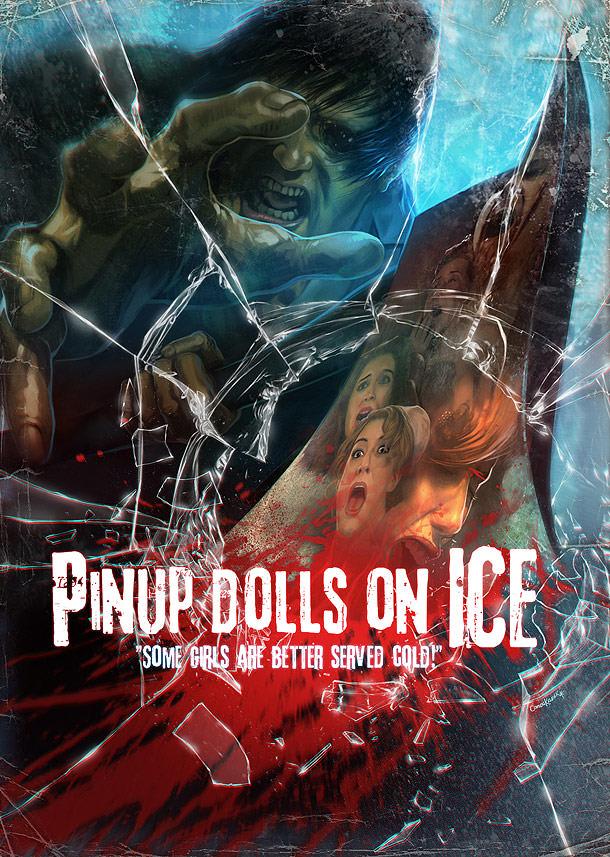Cartel oficial de Pinup Dolls on Ice (Geoff Klein, Melissa Mira, 2013).