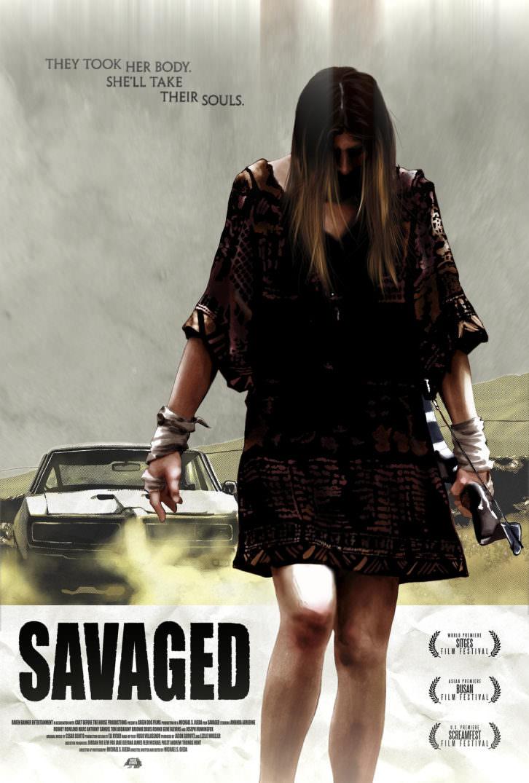 El subgénero Rape & Revenge revisado en Savaged (Michael S. Ojeda, 2013).