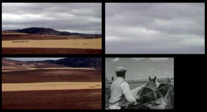 Damià Jordà. Molinos de viento, 2012. Vídeo DV Pal color. 4' 28''. Imagen cortesía del artista y Galería MisterPink.