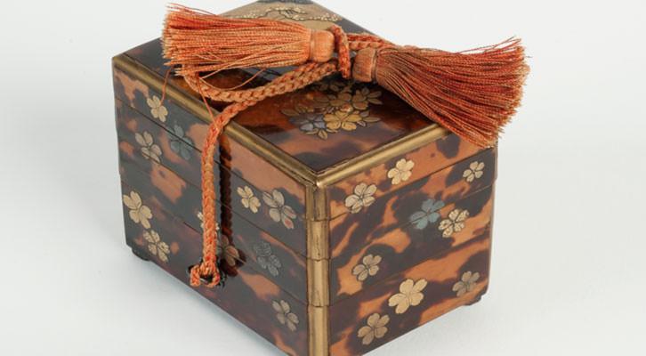 Una de las piezas mostradas en la exposición de Arte Japonés en el Museo de BBAA. Imagen cortesía del Museo de Bellas Artes de Bilbao.