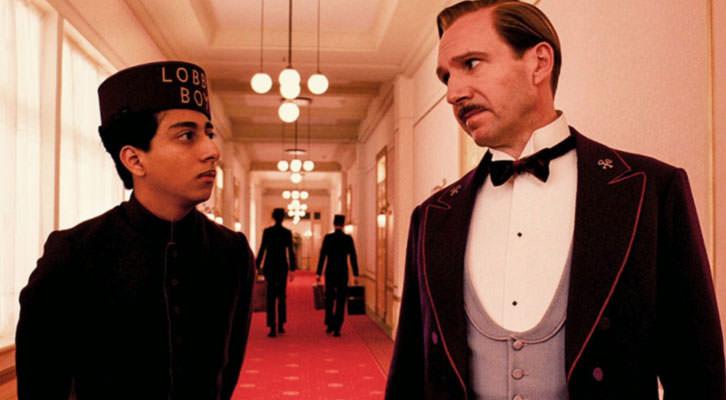 Fotograma de 'El gran hotel Budapest', de Wes Anderson.