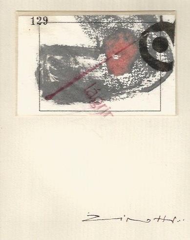Obra de Claudio Zirotti en 'Nosotros lo contamos con vino'. Espacio 40.