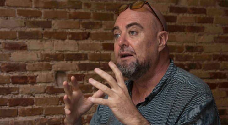 Alberto Adsuara, en un momento de los Desayunos Makma en Lotelito. Fotografía: Gala Font de Mora.