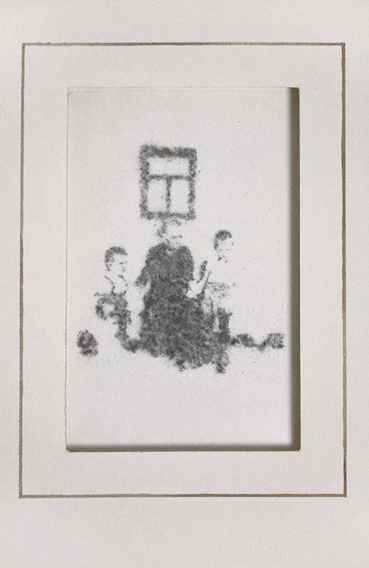 Gil Gijón. Retrato de polvo, 2014. Imagen cortesía del artista.