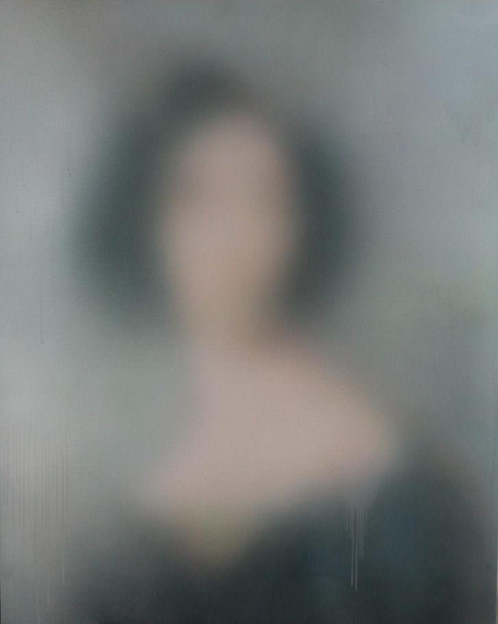 Miaz Brothers. Lady F, 2014. Acrílico sobre lienzo. 162 x 130 cm. Imagen cortesía de los artistas y Galería Paz y Comedias.