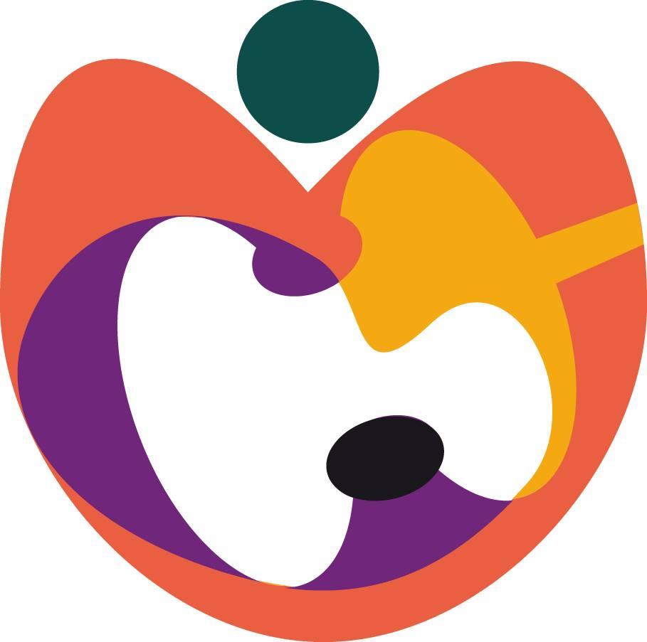 Logotipo del II Congreso Internacional de Espacios de Arte y Salud. Imagen cortesía de DKV Seguros.