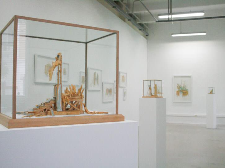 Exposición de Antonio Fernández Alvira en el Centro Párraga, Murcia. Imagen cortesía del artista y Espai Tactel.