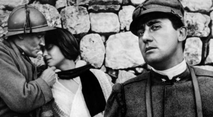Alberto Sordi en un fotograma de 'La gran guerra', de Mario Monicelli. Imagen cortesía de Cinema Jove.