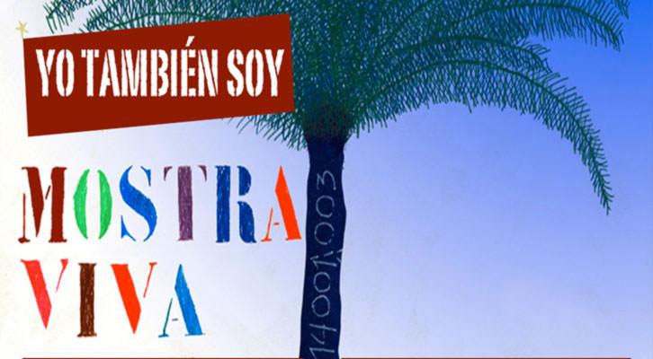 Detalle del cartel del festival  Mostra Viva de 2013. Imagen cortesía de Mostra Viva.