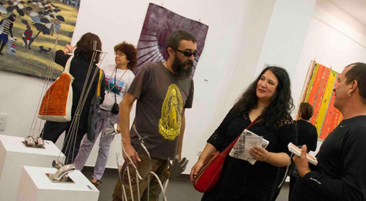 Artistas brasileños de Asociación Llave Maestra durante Russafart. Fotografía: Maite Bäckman.
